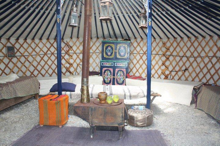 le campement nomade la maison du perche. Black Bedroom Furniture Sets. Home Design Ideas